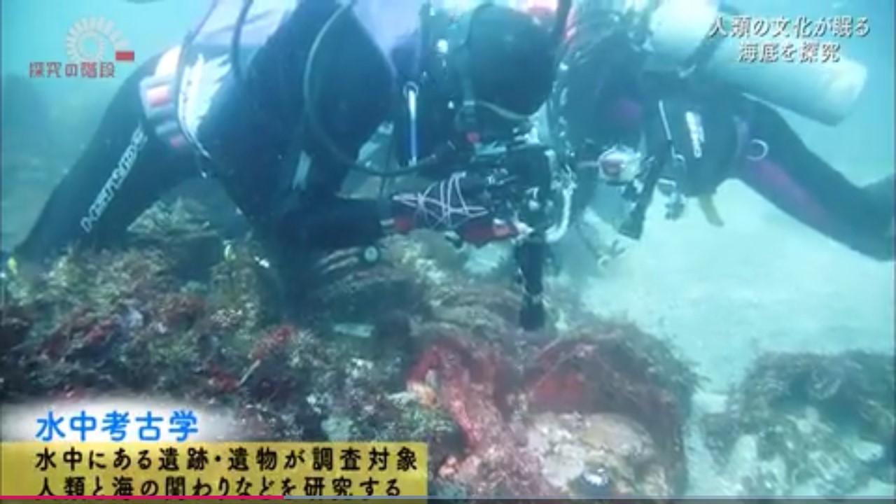 人類の文化が眠る海底を探求 期間限定 テレビ(動画)